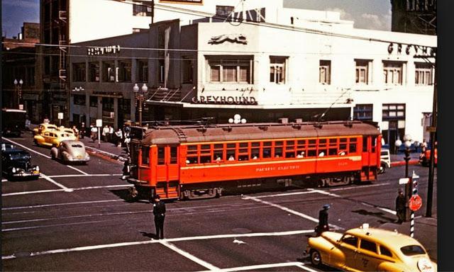 Автовокзал Greyhound, 1943 год.