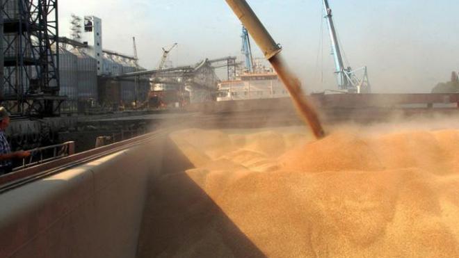 Украина ссамого начала 2016/2017 МГэкспортировала 17,2 млн тонн зерна