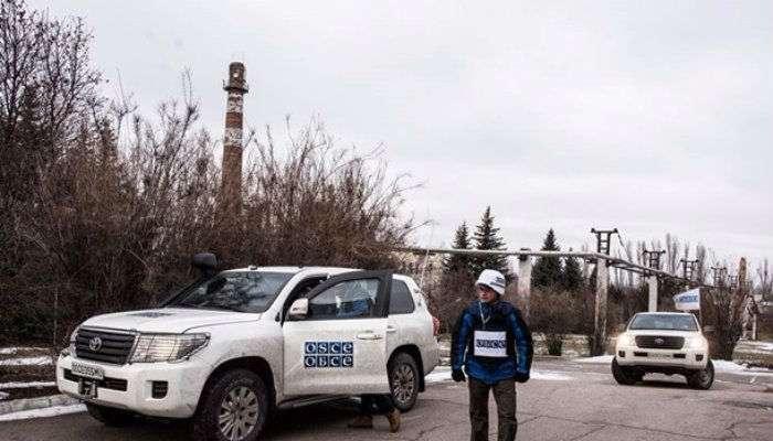 Доступ ОБСЕ крайонам разведения сил наДонбассе ограничен
