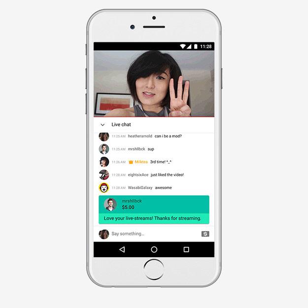 Super Chat наYouTube заработал с12января