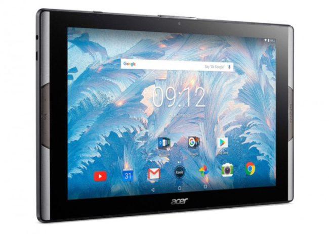 Acer анонсировала планшеты Iconia Tab 10 иIconia One 10