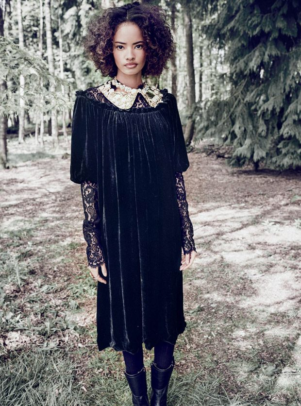 Model of the Year: Malaika Firth Stuns for Harper's Bazaar UK