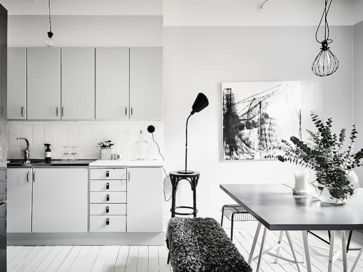 Swedish Minimalism at Kungsgatan 4