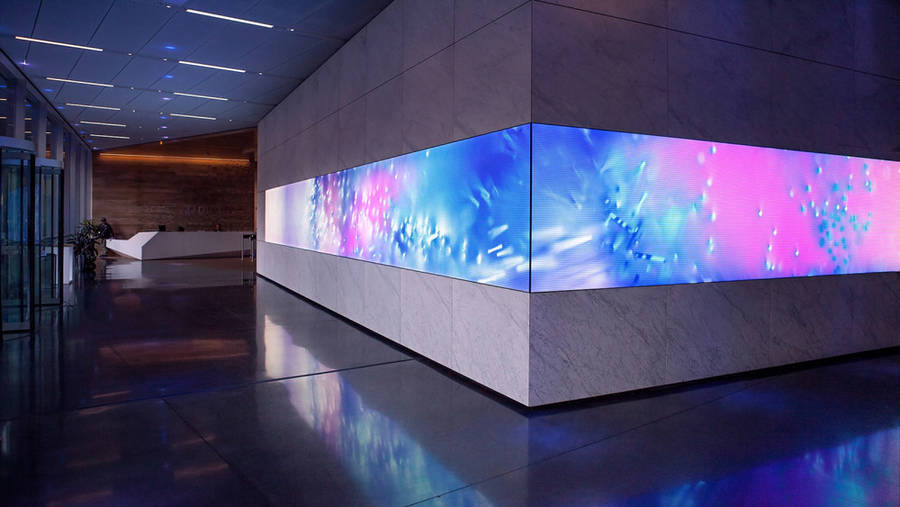 Digital Art Installation for Dolby Laboratories