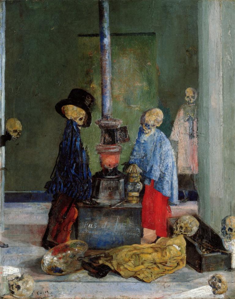1-Живопись_James-Ensor_Skeletons-Trying-to-Warm-Themselves.-1889.jpg