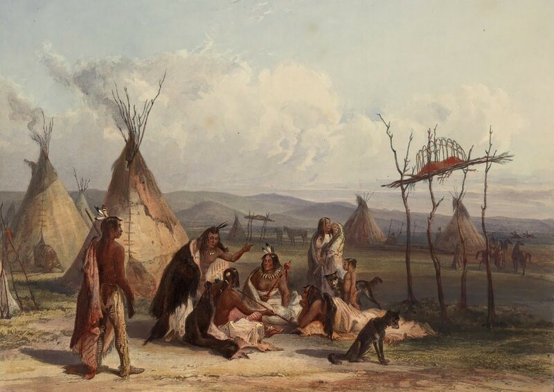 1 bodmer Funeral_scaffold_of_a_Sioux_chief_0044v_crop.jpg