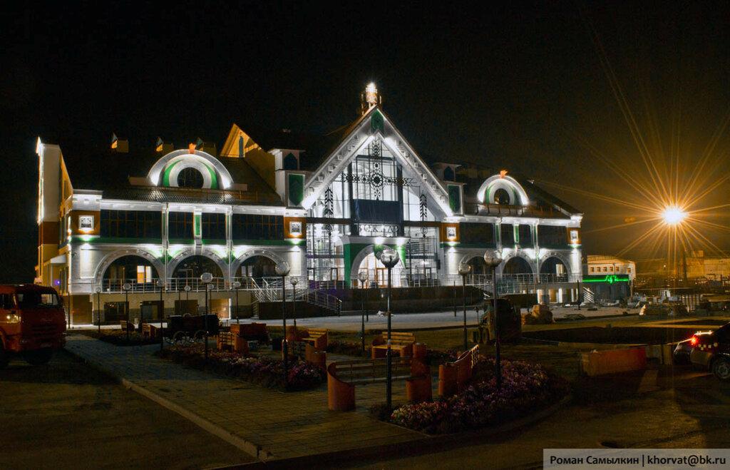 Новый железнодорожный вокзал в Белово