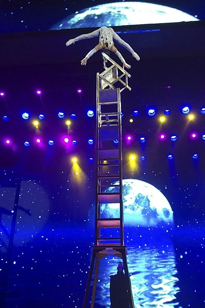 Китай, Пекин, театр акрабатов