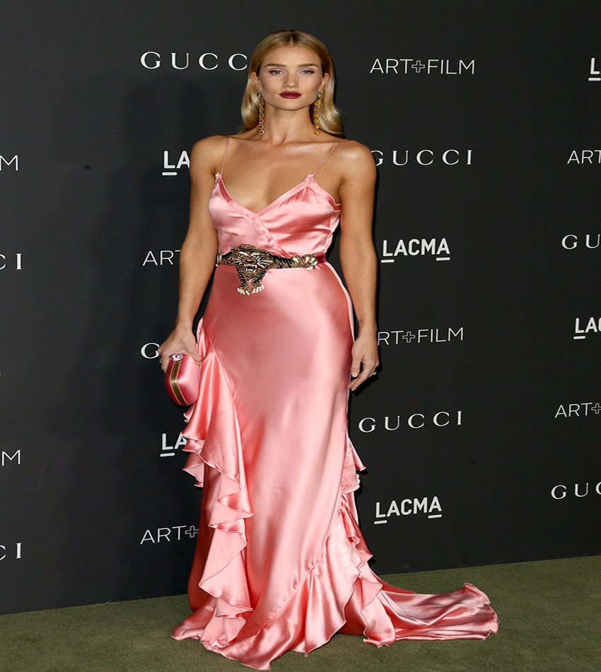 Rosie Huntington-Whiteley - LACMA Art + Film Gala 2016
