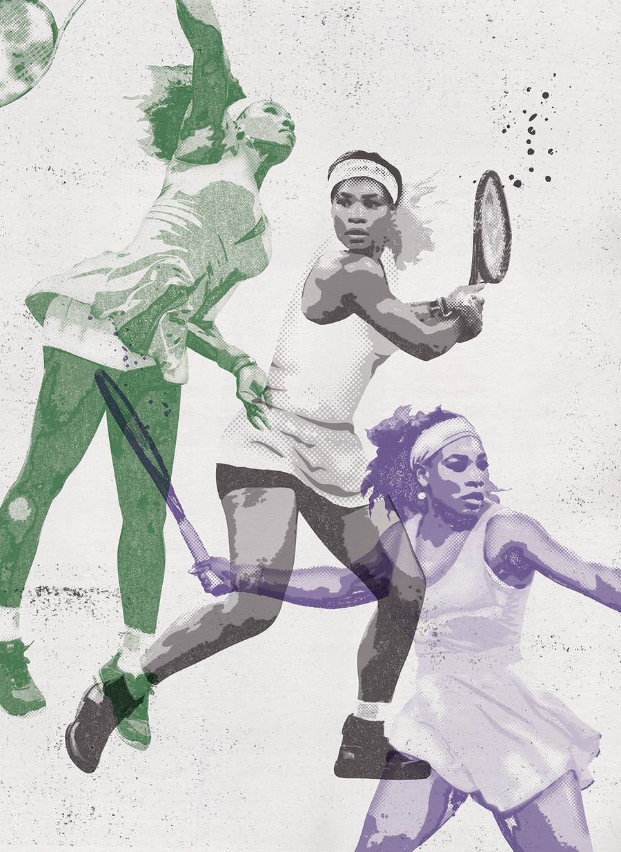 Pieces of Art Tribute to Serena Williams