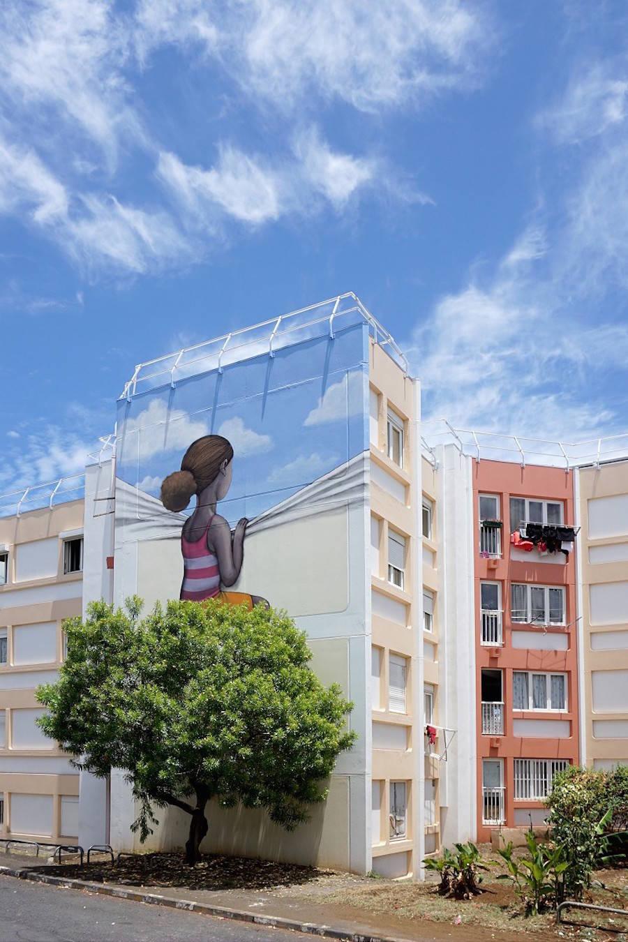 Poetic Street Art in Reunion Island