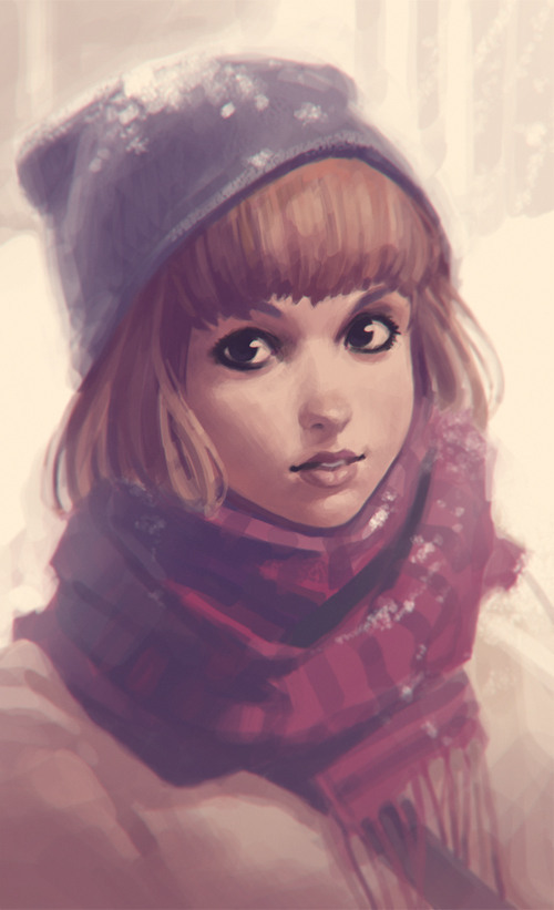 Amazing Illustrations by Ilya Kuvshinov