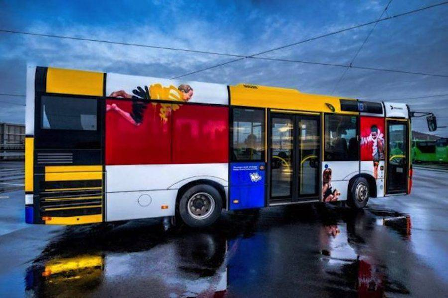 Creative Street Art Buses in Norway
