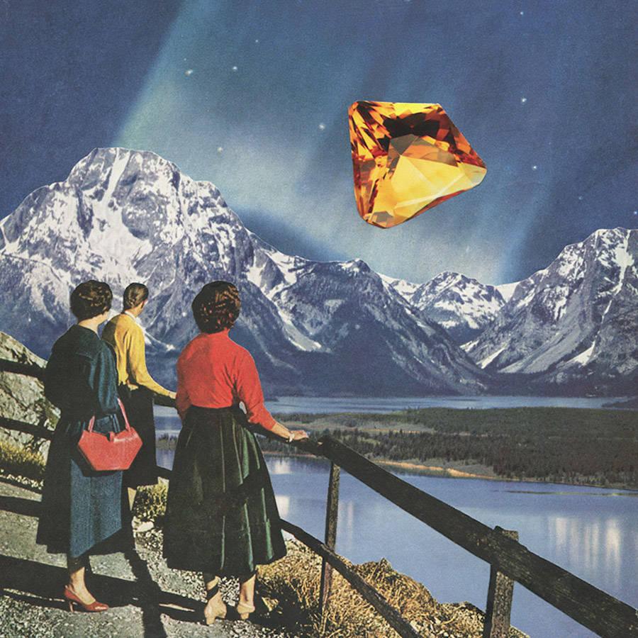 Surrealist Vintage Collages by Karen Lynch