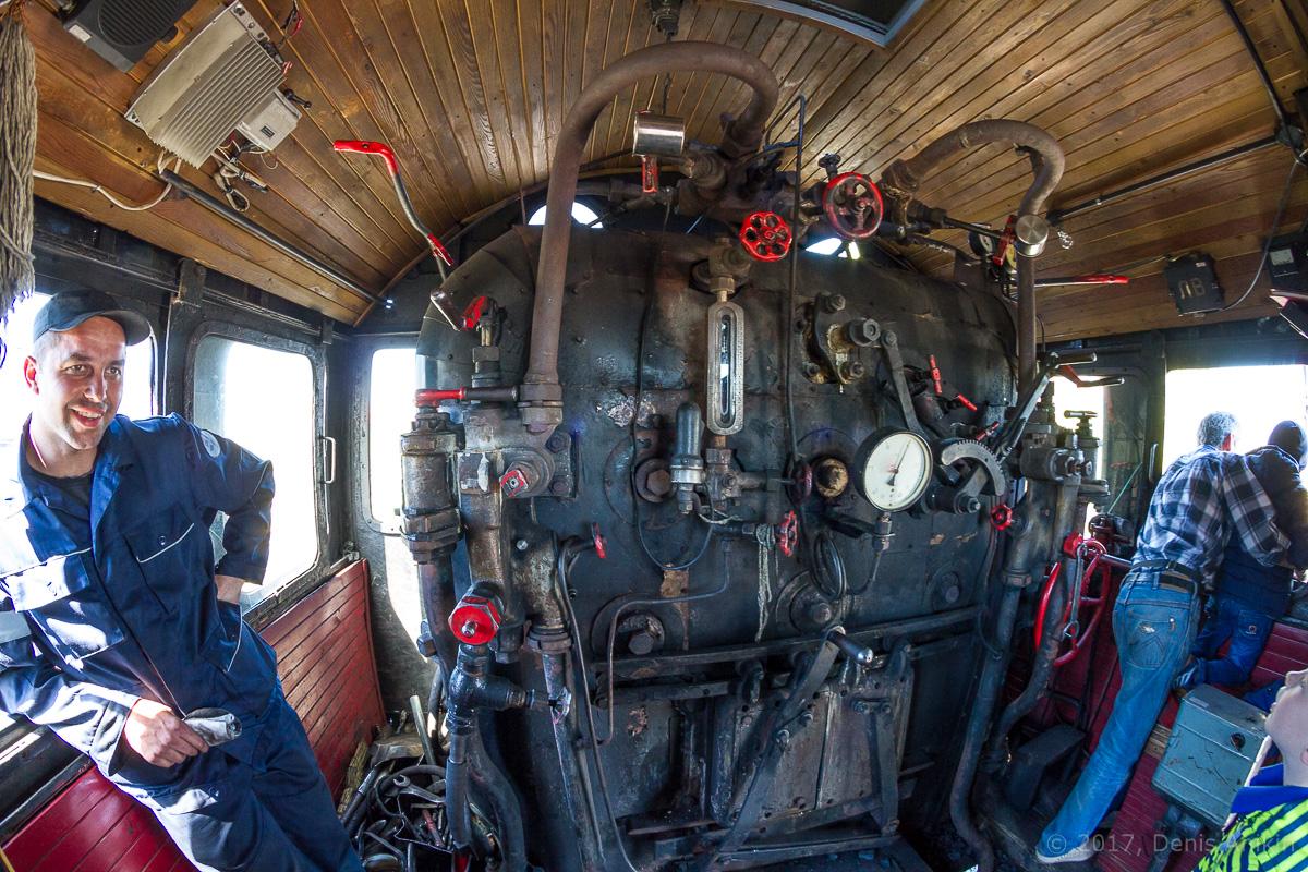 Ретро-поезд Победа фото 16