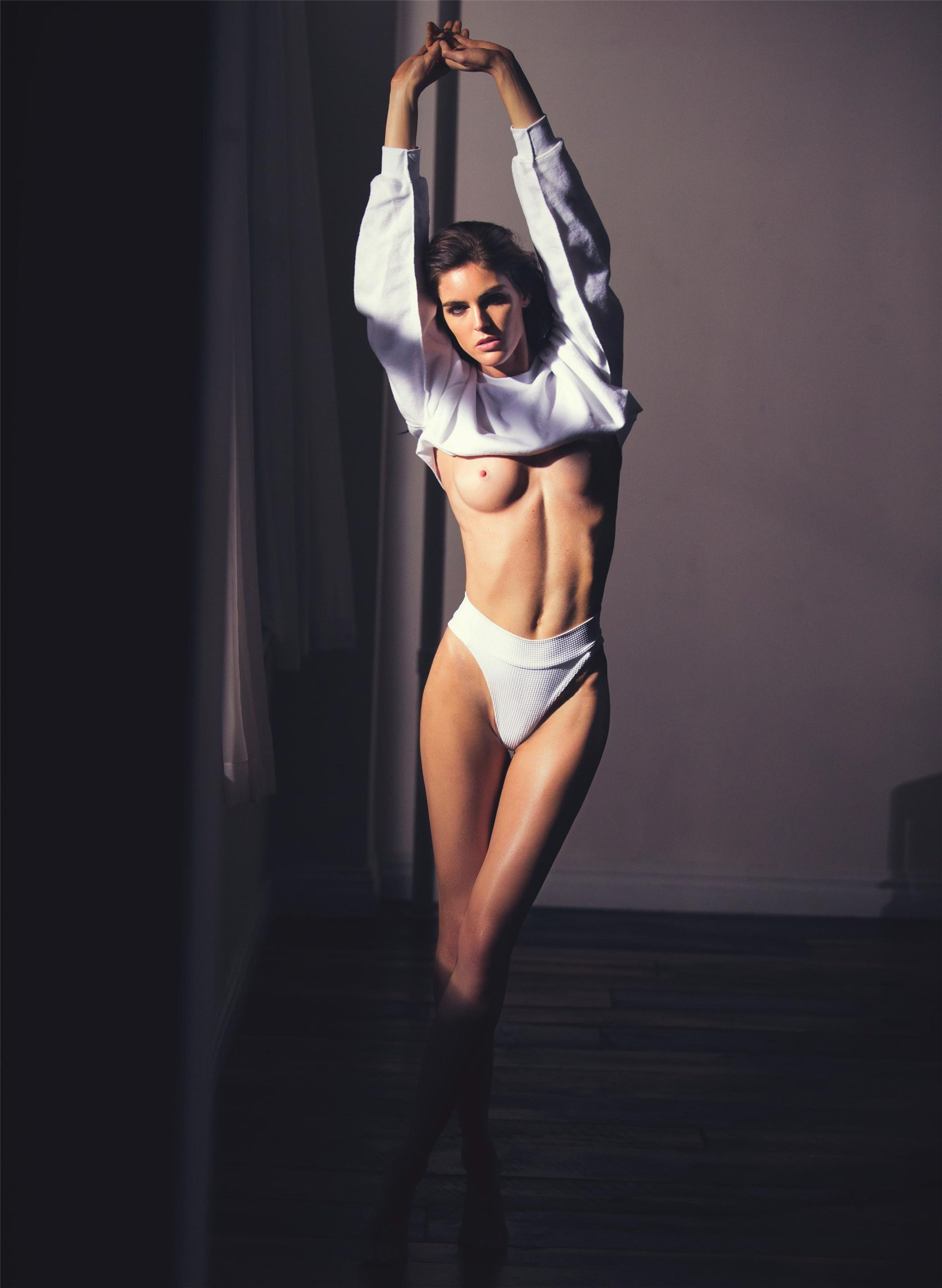 Хилари Рода / Hilary Rhoda by David Bellemere - Lui december 2016 / january 2017