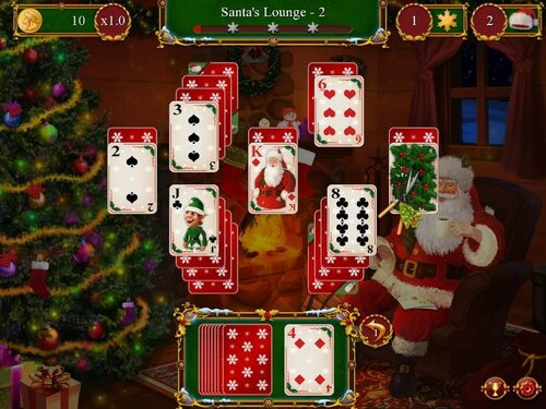 Santas Christmas Solitaire
