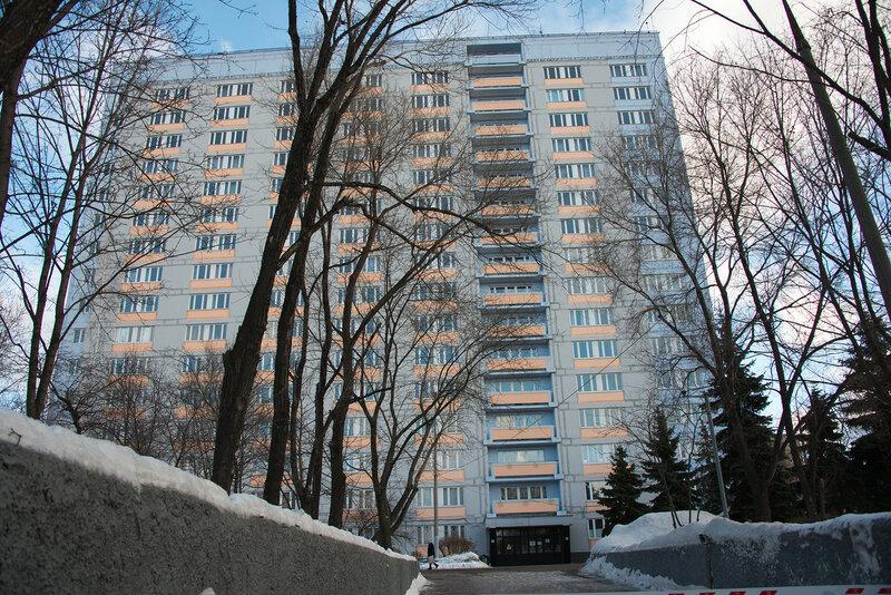 Общежитие колледжа им И.Фёдорова