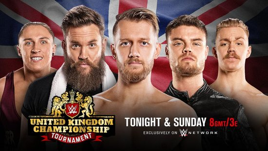 Post image of WWE United Kingdom Championship Tournament
