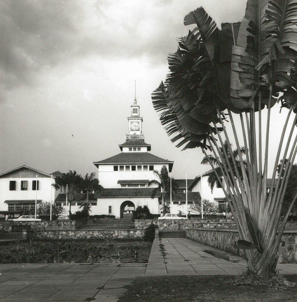 Гана. Аккра. Университет