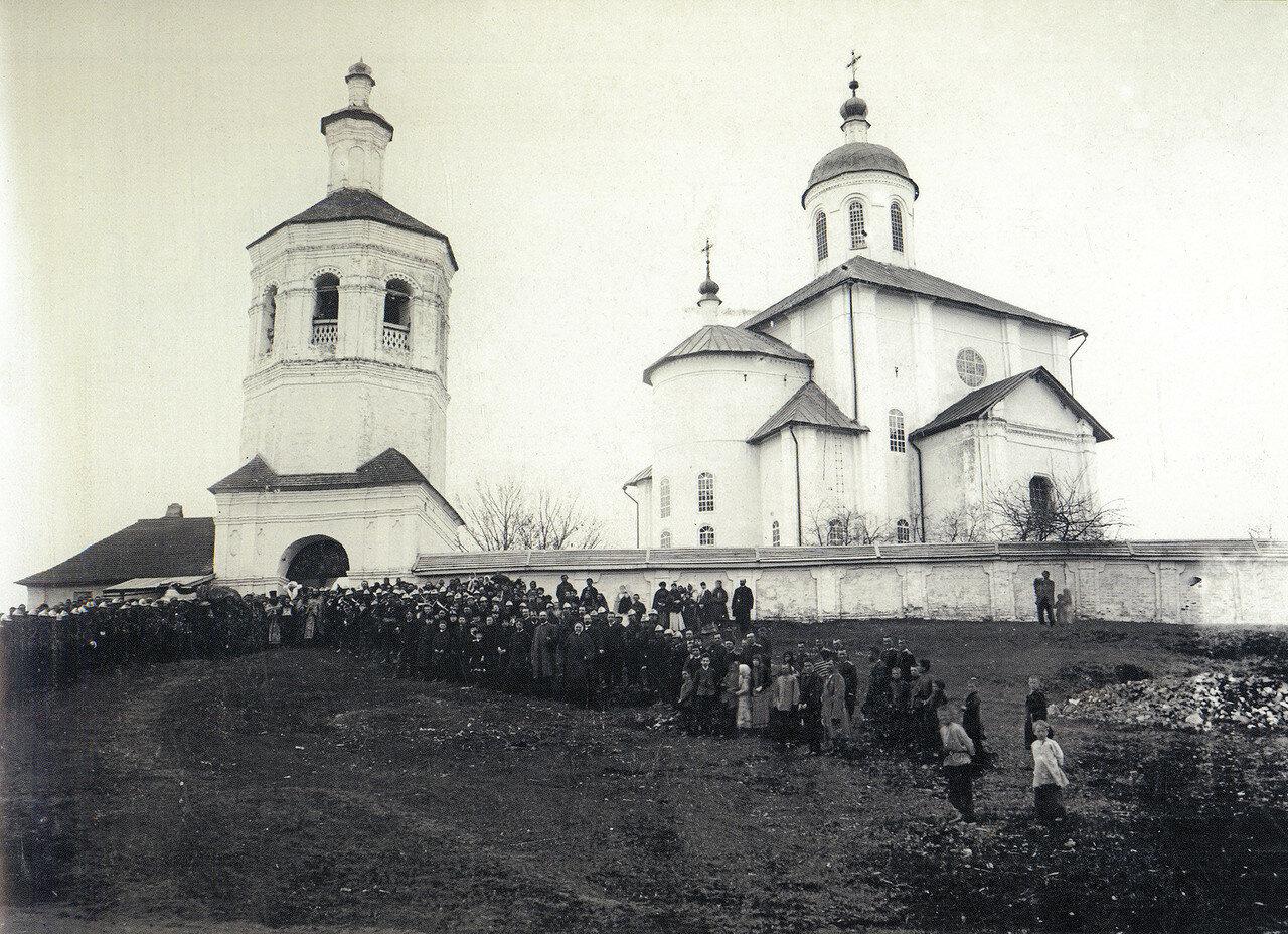 Свирская церковь. 1885
