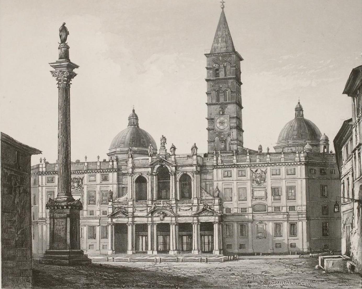 Италия. Рим. Церковь Санта-Мария-Маджоре