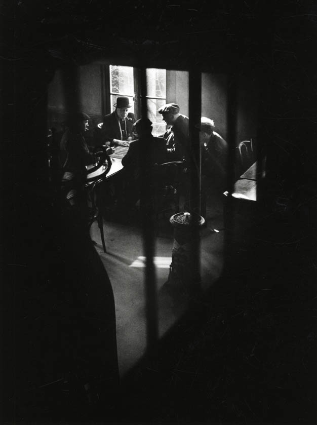1948. Уличное кафе в Бельвиле