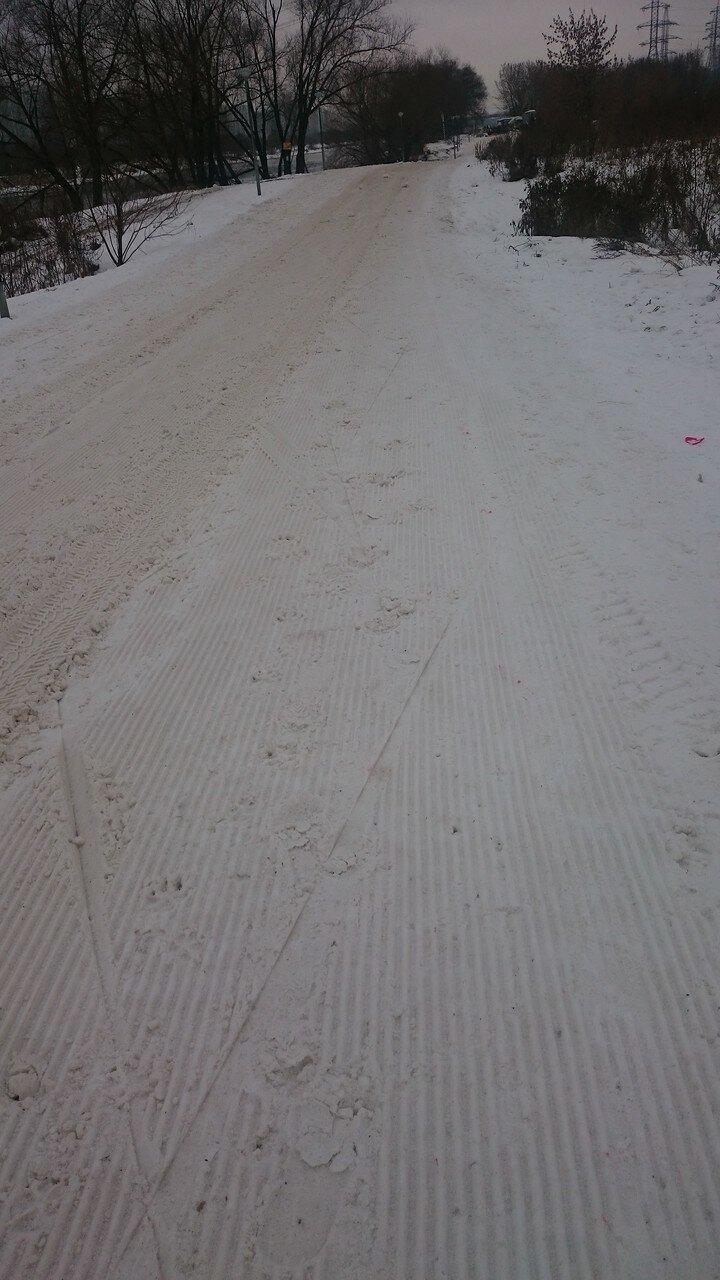 Лыжная трасса Капотня-Марьино