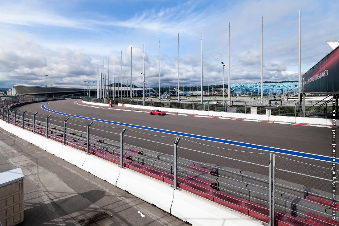 фотография трассу Формулы-1 Гран-при России