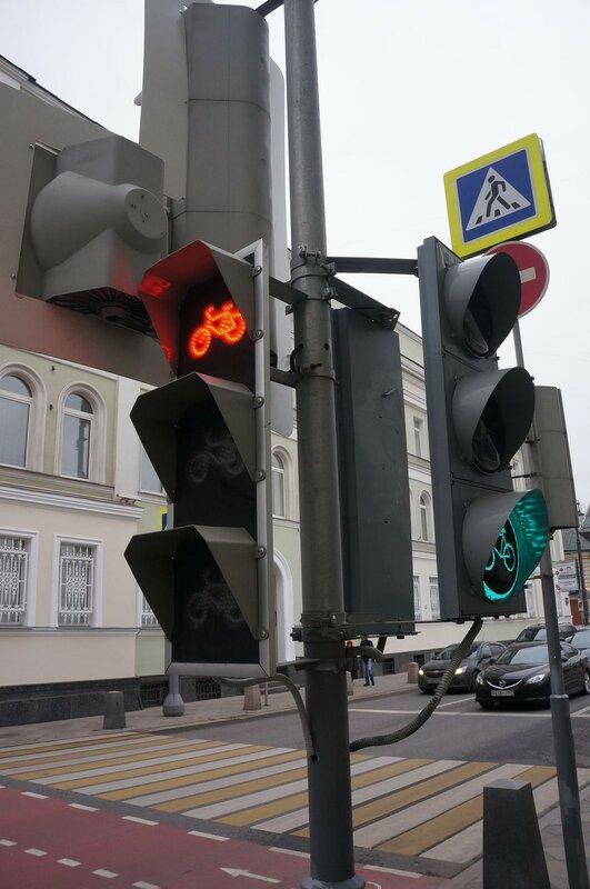 Велосипедный светофор