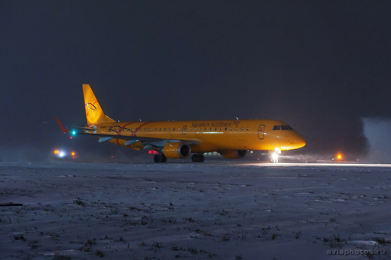 Embraer 190-200IGW (VQ-BRX) Saratov Airlines 030_D706606