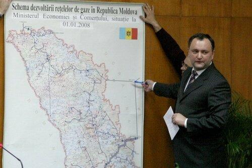 Игорь Додон видит Приднестровье в составе государства Молдова?