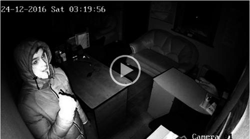 Камера видеонаблюдения запечатлела грабителей в Кишинёве