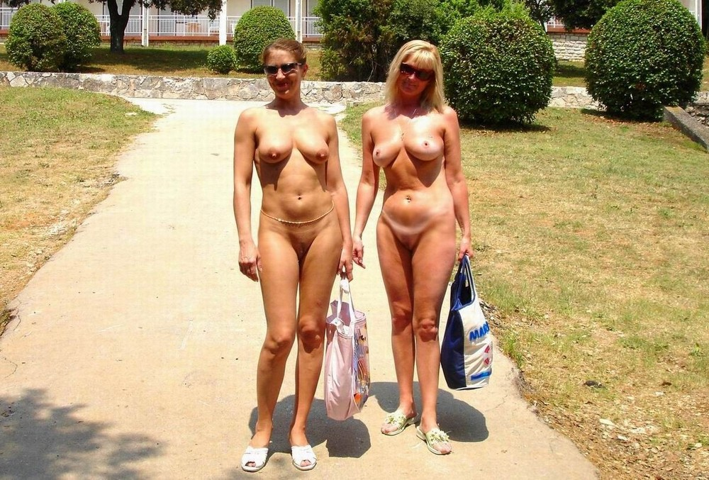 Nudist wife public — 2