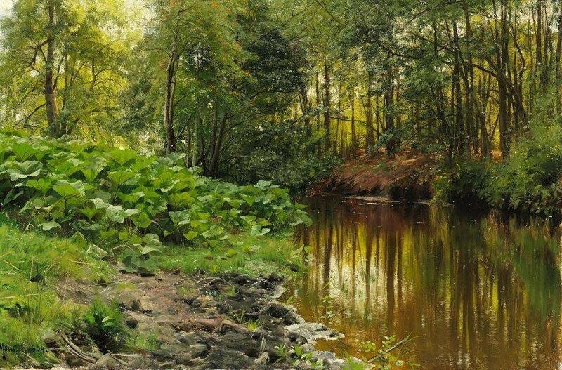 Петер Мёрк Менстед   пейзажи датского художника