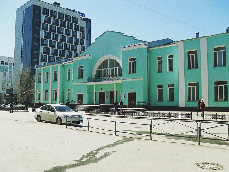 Музей истории Западно-Сибирской железной дороги. Часть первая.