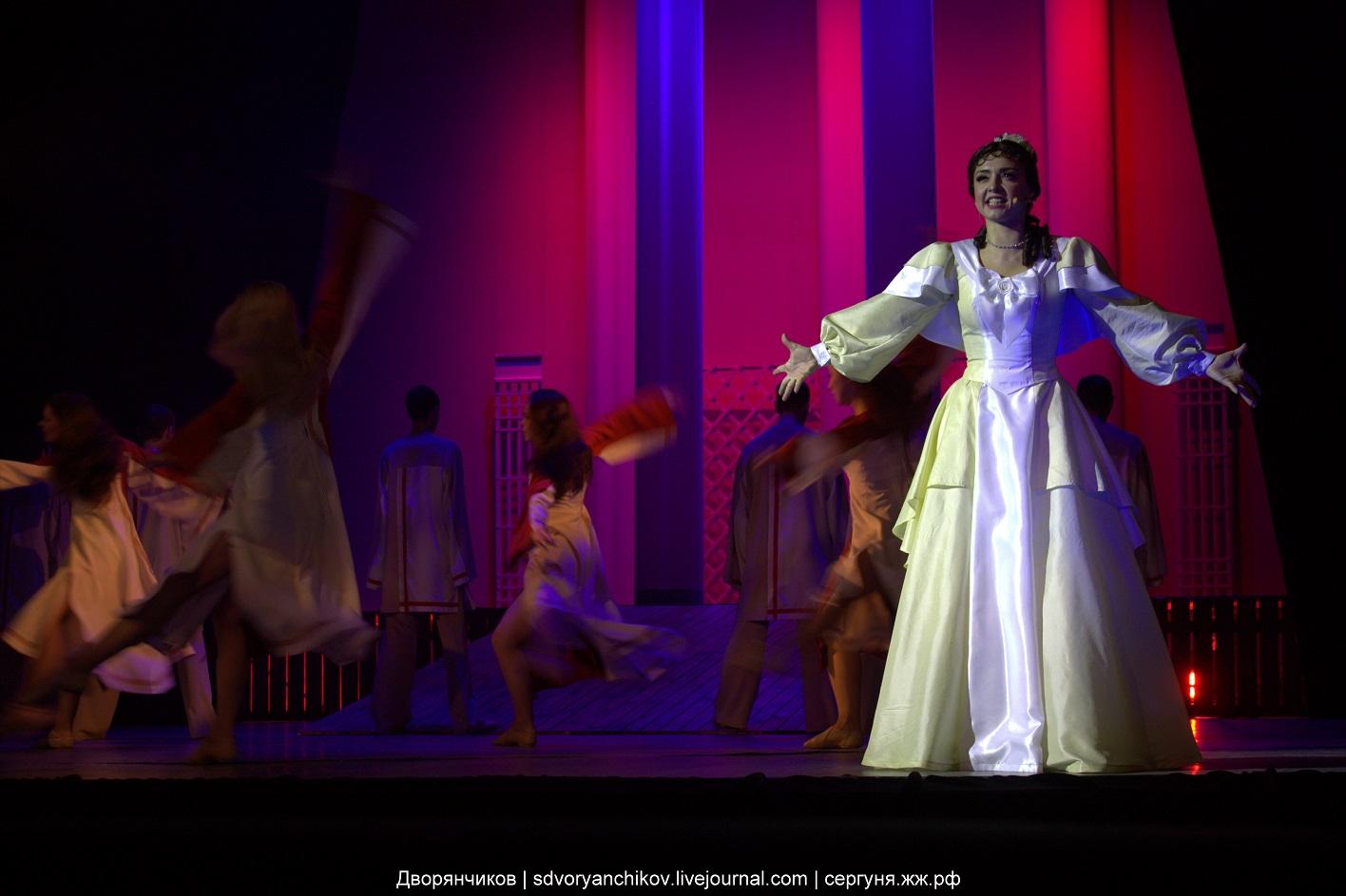 Дубровский - мюзикл Кима Брейтбурга и Карена Кавалеряна в Волгоградском музыкальном театре. 27 января 2017