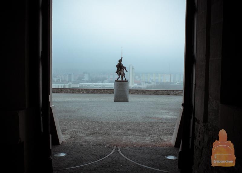 памятник Святополку в Братиславе