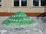 елочка из снега