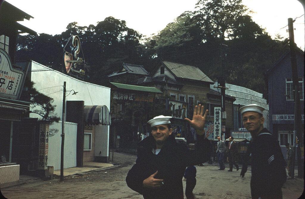 Japan (Yokosuka), 1954.