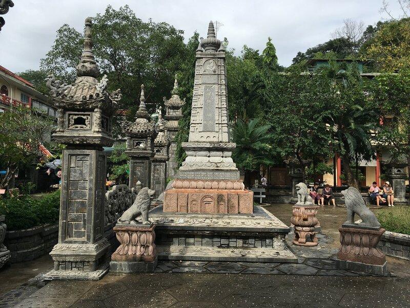 Вьетнам   Пагода Лонг Шон (Long Son Pagoda)