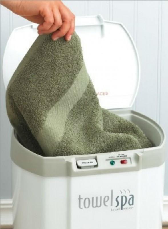 С таким гаджетом ваше полотенце будет всегда теплым.