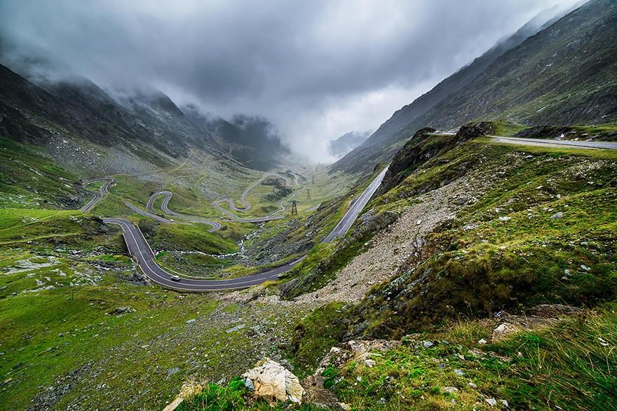5. Трансфэгэрашское шоссе, Трансильвания. (Фото: Бен Тейлор)