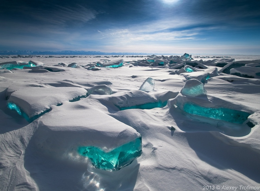 Озеро Байкал, Россия.