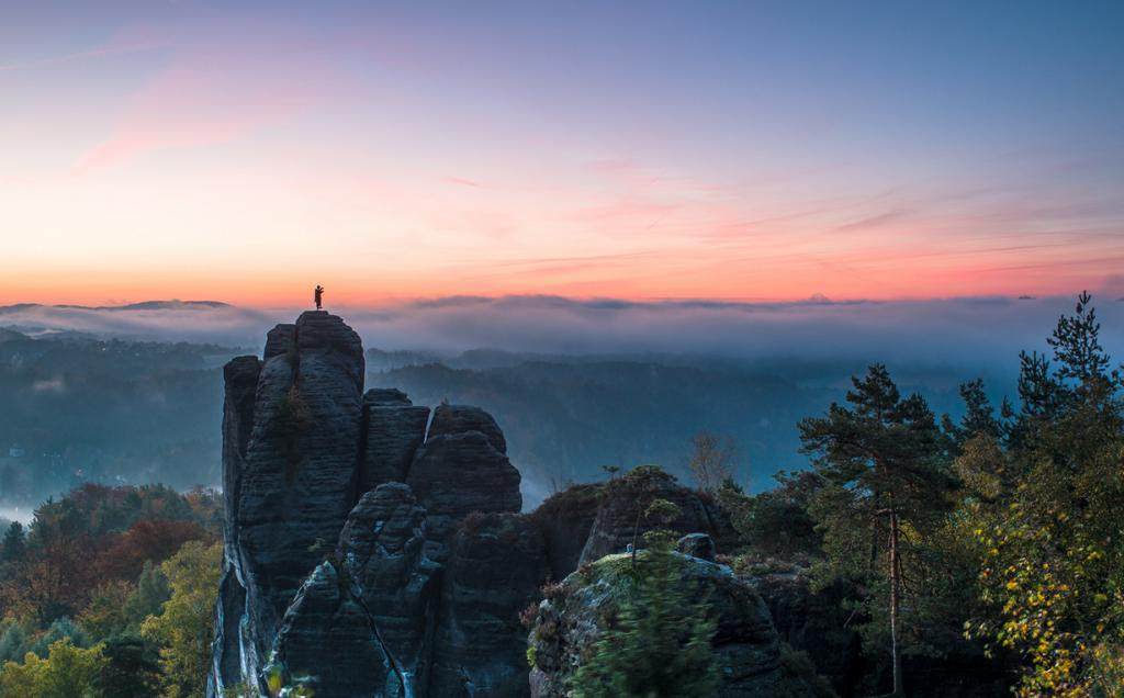 Главная достопримечательность Саксонской Швейцарии
