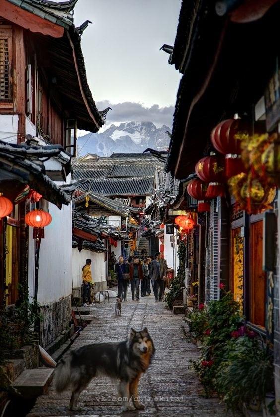 Очарование китайских улиц