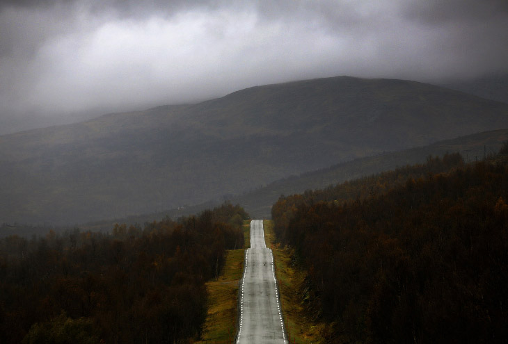 2. Северное сияние в Норвегии, 2 октября 2014.