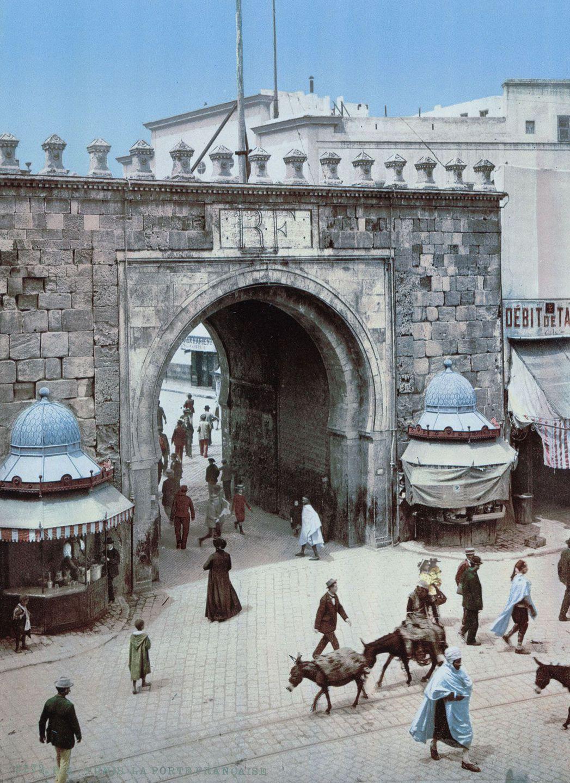 Французские ворота, Тунис.