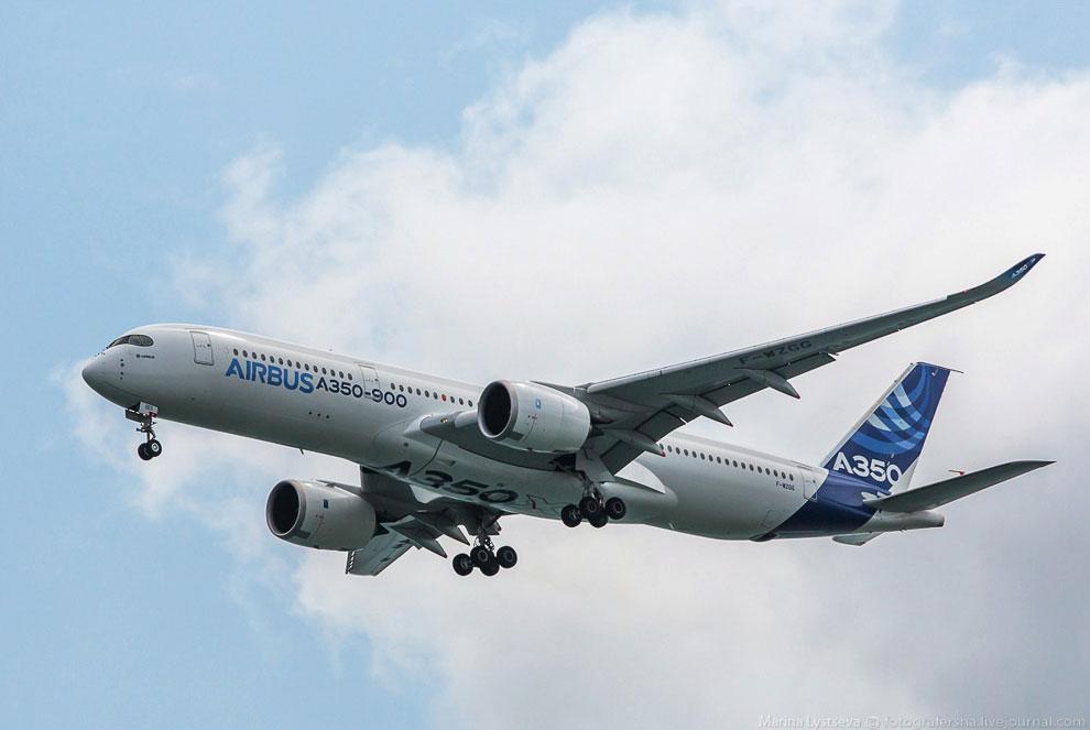 У А350 прямые эксплуатационные расходы «на кресло» на 25% ниже по сравнению с Boeing-777 и почт