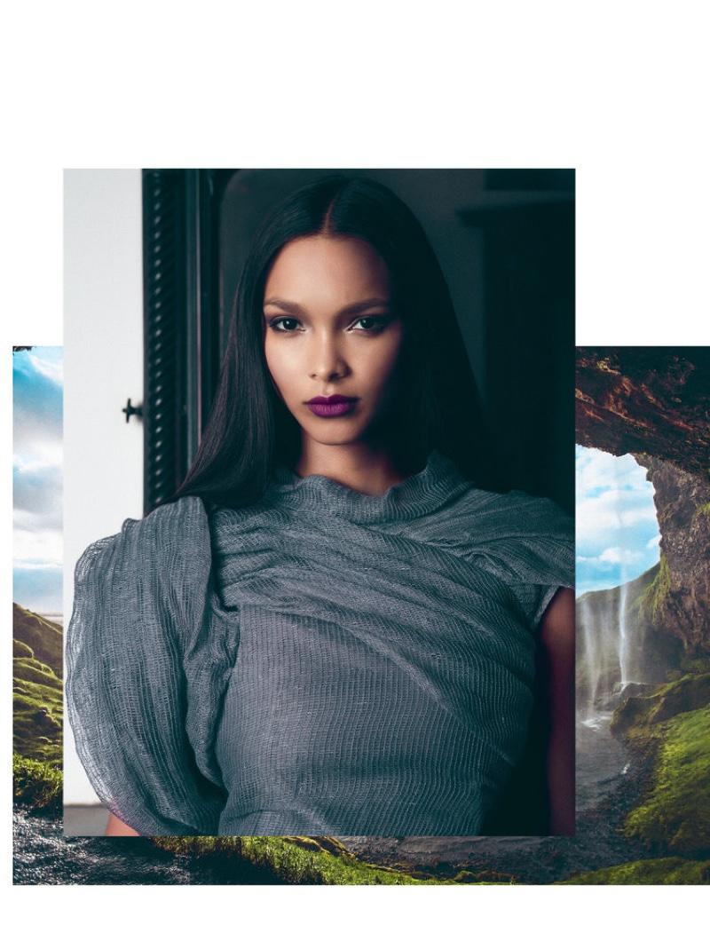 Лаис Рибейро для FLAUNT Magazine